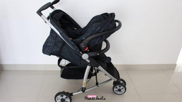 Cadeira para Auto Baby acoplada ao Carrinho Movie da Burigotto