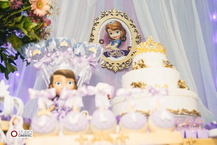 festa princesinha sofia